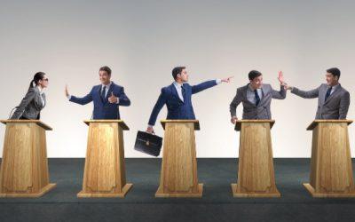 Sprech-Coaching mit Spitzenpolitikern