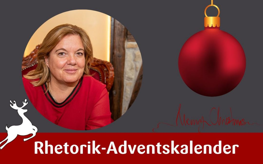 Rhetorik Adventskalender