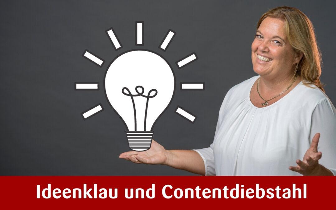 Ideenklau und Contentdiebstahl