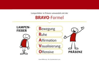 BRAVO Formel – Lampenfieber reduzieren